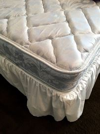 Also...TWO Like New Twin Beds...Sorry, No Headboards With These...