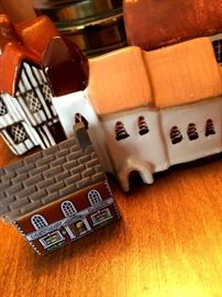 These Little Porcelain House Are...A-Dorable!...