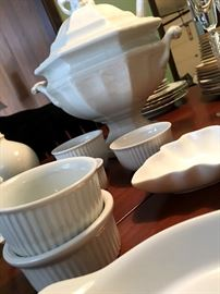 There Are Some Fun Things In The Kitchen Too...I'm A HUGE Fan Of White Dishes and Serving Pieces!...