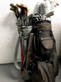 Down In The Basement...Vintage Golf Clubs...