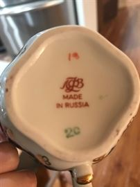 Russia bone china