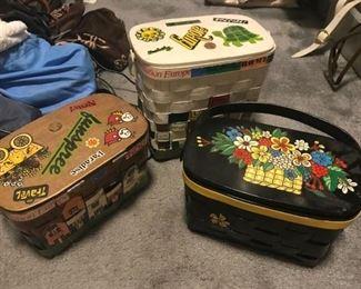 •Vintage and Designer purses/handbags including Le Sportsac, Doony Burke, vintage box purses, studio 54 disco style purses from the 1970s