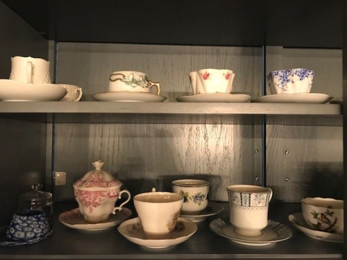 bone china tea cups