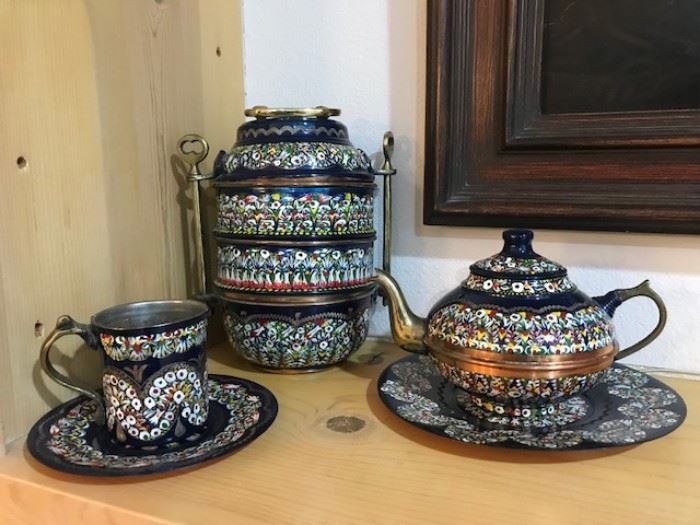 •	1970s Morocco Tea set