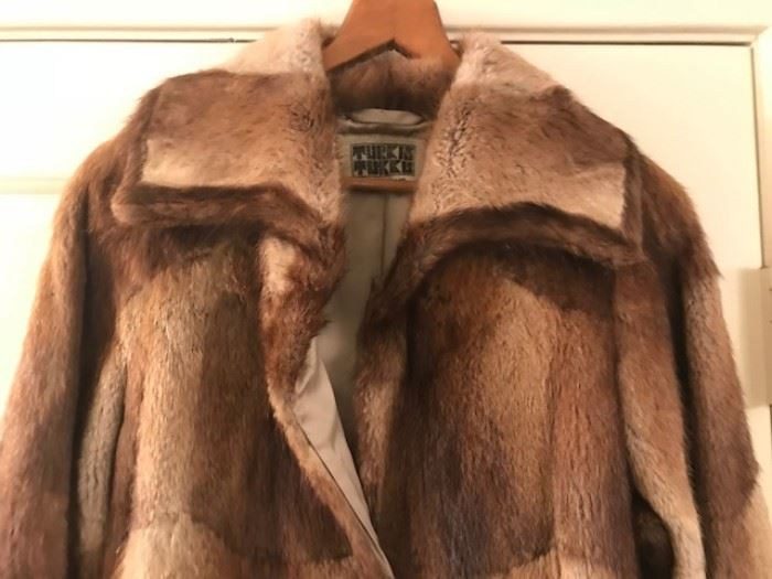 •	Vintage mink coats – One RARE from Turkis Turkis Finland in the late 60's / 70's who made coats for The Rolling Stones and Queen!
