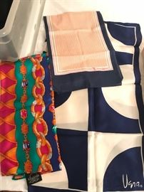 silk vera and silk st. John scarves