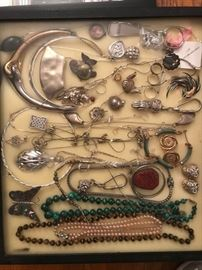 •	Sterling, Designer and Costume Jewelry