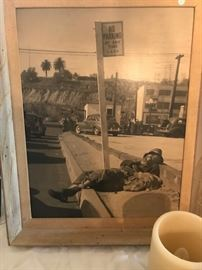 vintage los Angeles art