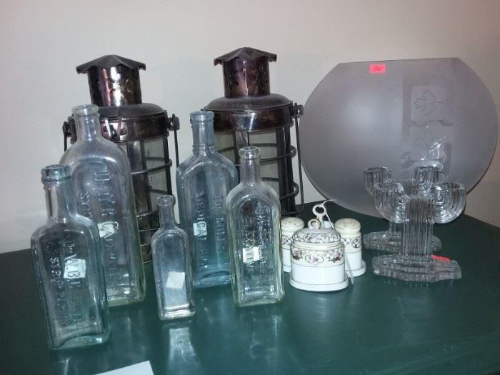Vintage 1900s Medicine Bottles