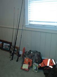 Fishing Rods & Reels, Fishing Equipment