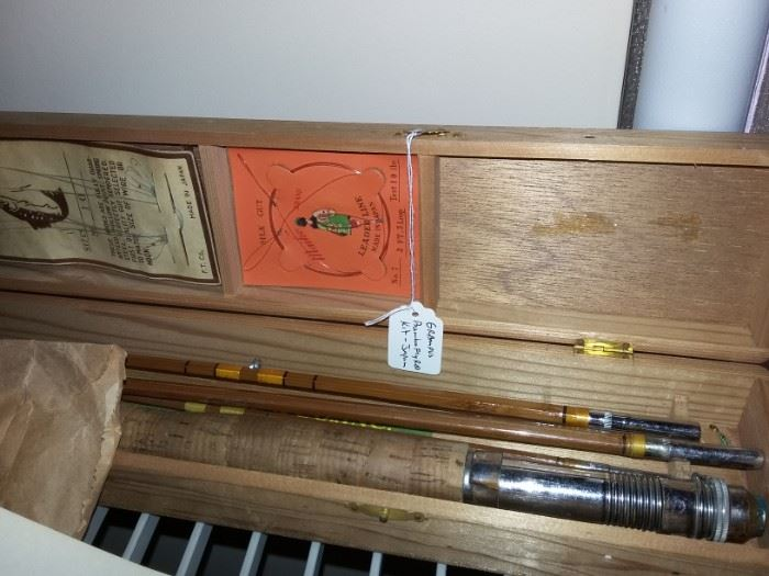 Grampus Bamboo Fly Rod Set in box