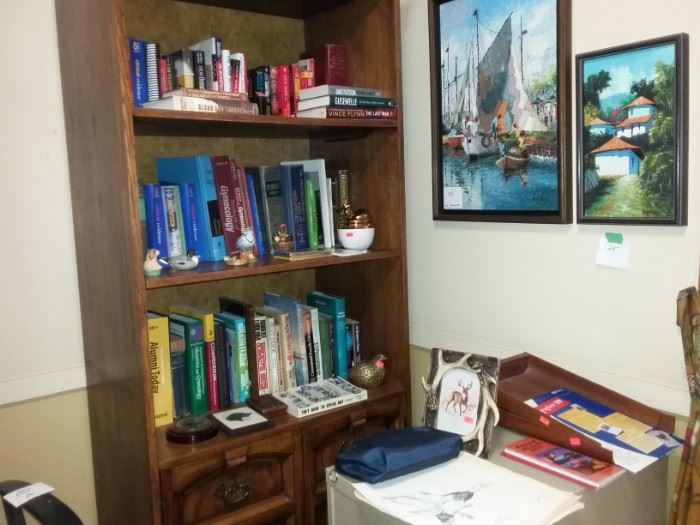 Shelves upon Shelves of Books