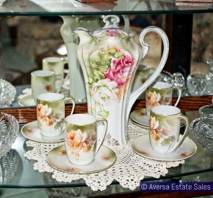 Beautiful German Porcelain Set