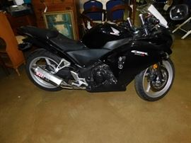 2012 Honda CBR250 4700 miles