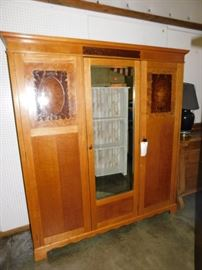 wonderful antique armoire wardrobe
