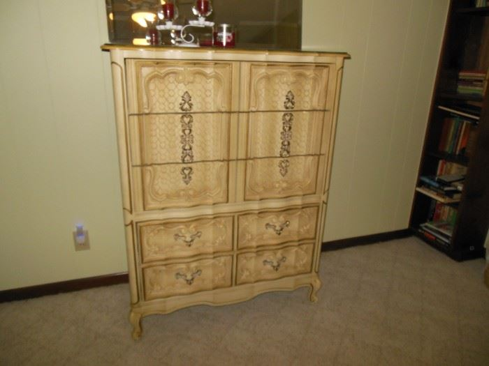 Beautiful Vintage Tall Chest