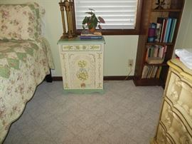 Small Painted Storage Chest