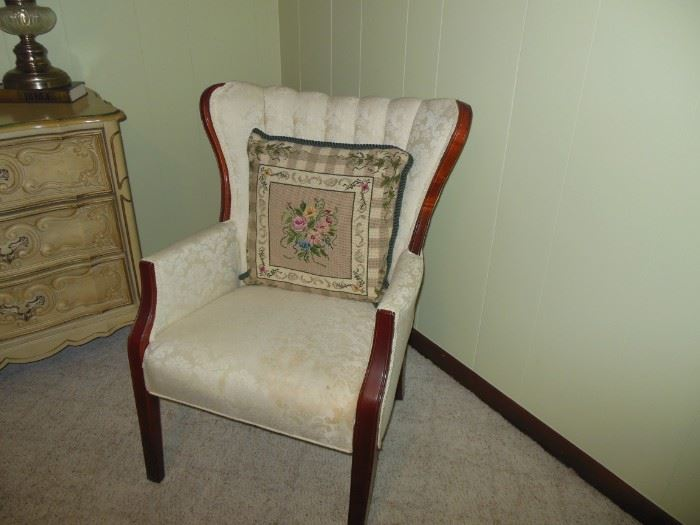Great Channel Back Arm Chair
