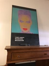 The Andy Warhol Museum promotional poster