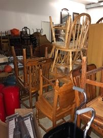 Vintage Chairs of all kinds!