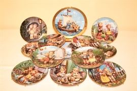 Danbury Mint Hummel Collector Plates