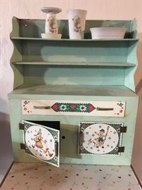 Childs metal cabinet