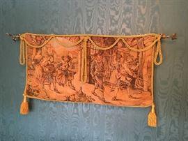 Renaissance hanging tapestry