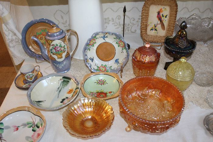 Collectibles, Carnival Glass