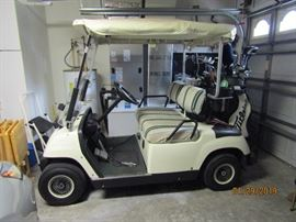 LIKE NEW GOLF CART.. JUST CHECKED OUT BY THE BARN AT THE CC. OF MT. DORA.. IT IS IN GREAT CONDITION AND READY FOR YOU TO OWN...
