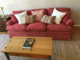Pink Couch - not carpet