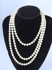 58 in Saks Fifth Avenue cultured Pearls