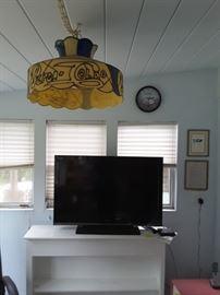Small TV, Pepsi Lamp