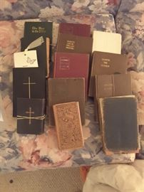 Vintage Holy Bibles