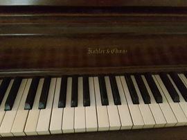 Close Up Piano Keys - Piano Kohler and Chase.