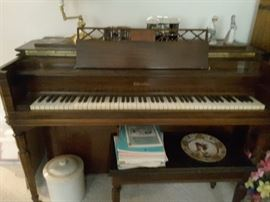 """Piano Kohler and Chase. The Piano needs """"to be tuned"""". The Piano has been in the family for decades, a very beautiful Piano. Comes with a Piano Bench that lifts up to store music."""
