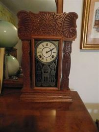 Gingerbread Shelf Clock