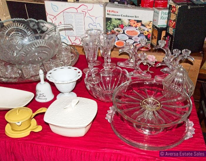 Vintage Ceramics and Glass