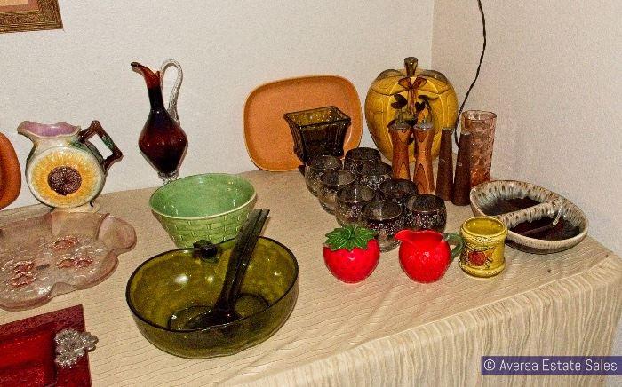 Vintage Ceramics and Glassware