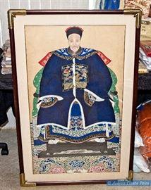 ASIAN Art - Emperor and Empress