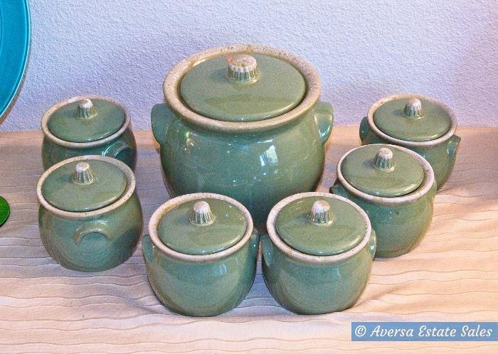 BAUER Bean Pot Set