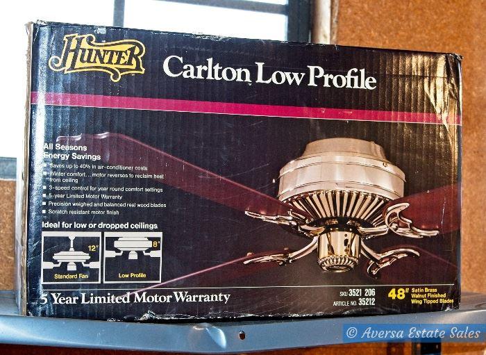 NEW in BOX - Hunter Ceiling Fan