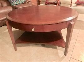 "Coffee table (40"""" diameter)"