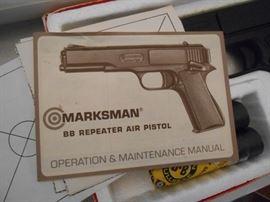 Marksman BB repeater air Pistol