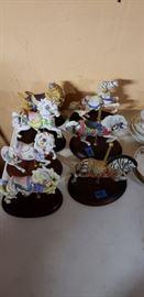 Franklin Mint Carousel horses