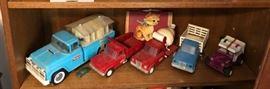 Vintage Tonka & Buddy L Trucks