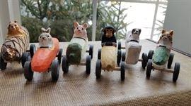 Animal Derby Cars