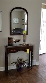 Entry Table and Mirror