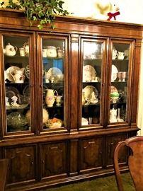 large Heritage china cabinet