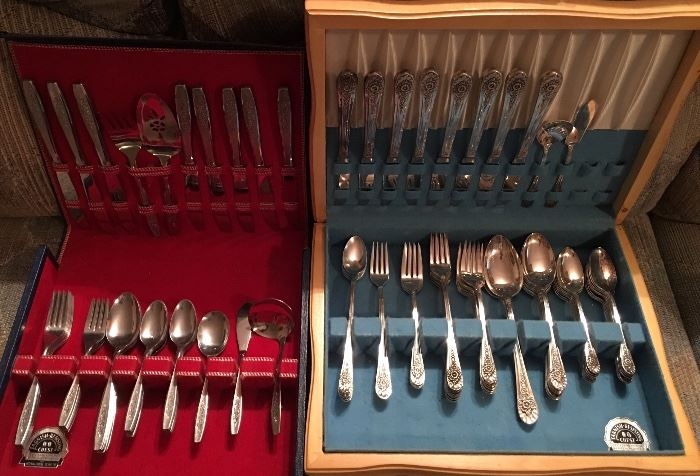 Silverware / Flatware Sets (Many Available)