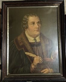 "Martin Luther 23""x18.5"" framed"